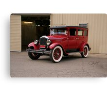 1927 Paige 8-85 Sedan Canvas Print