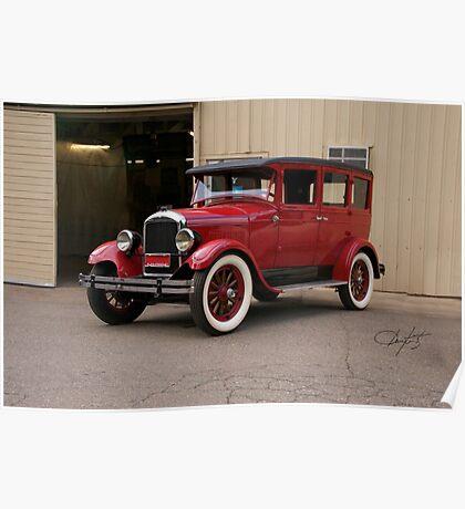 1927 Paige 8-85 Sedan Poster