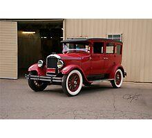 1927 Paige 8-85 Sedan Photographic Print