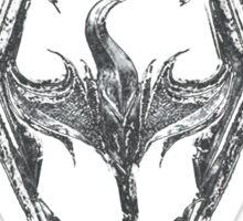 skrim dragon Sticker