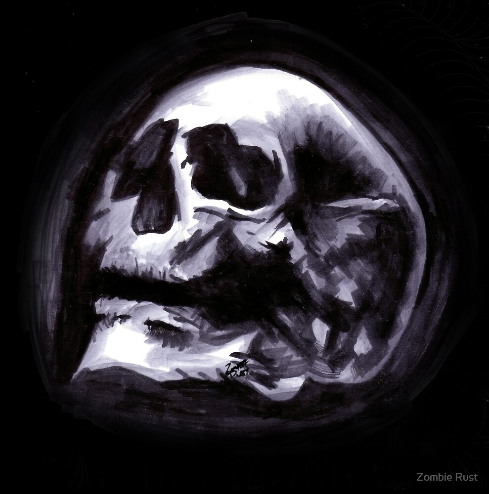 Bones VII by Zombie Rust