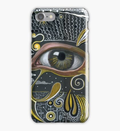 Eye in the sky. iPhone Case/Skin