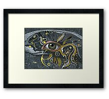 Eye in the sky. Framed Print