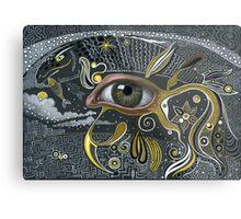Eye in the sky. Metal Print