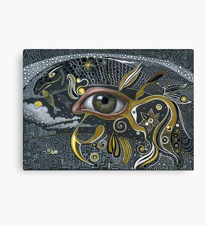 Eye in the sky. Canvas Print