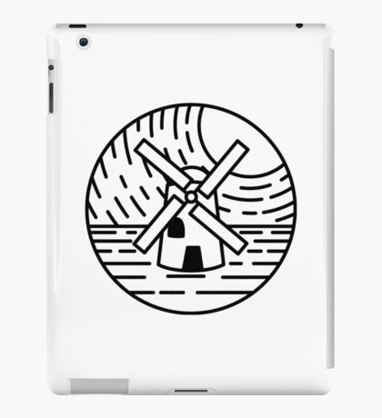 The Lonely Windmill iPad Case/Skin