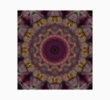 Mandala in violet, yellow and red tones Unisex T-Shirt