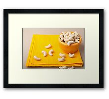 Natural and healthy food for raw foodists Framed Print