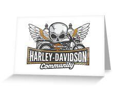 Harley community Greeting Card