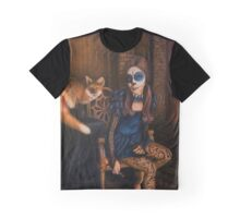 The Legend of Kitsune Graphic T-Shirt