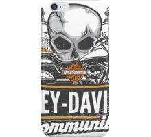 Harley community iPhone Case/Skin
