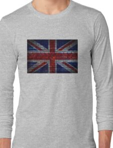 UK Flag vintage Long Sleeve T-Shirt