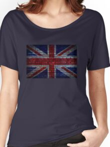 UK Flag vintage Women's Relaxed Fit T-Shirt