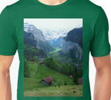 Lauterbrunnen, Late Afternoon Unisex T-Shirt