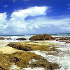 San Juan, Puerto Rico Beach  by Alberto  DeJesus