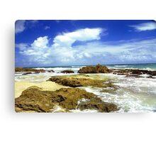 San Juan, Puerto Rico Beach  Canvas Print