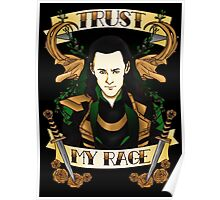 Trust my rage. Poster
