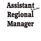 Assistant to the Regional Manager by haqstar