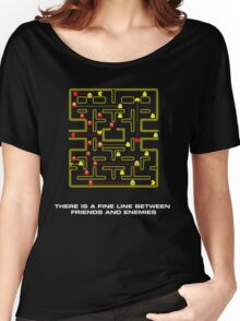 pac man video game  Women's Relaxed Fit T-Shirt