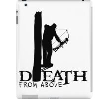 DEATH FROM ABOVE - BOWHUNTER iPad Case/Skin