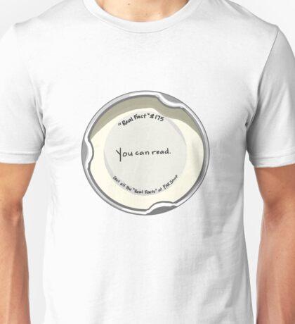 Bottle Cap Wisdom Unisex T-Shirt