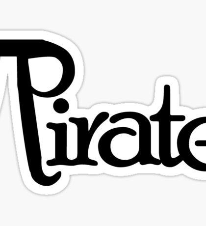 Pi Day Pirate Sticker