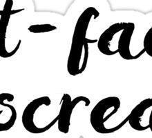 Gilmore Girls - Butt-faced miscreant Sticker