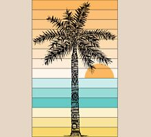 Palm Tree Sketch (Sunset) Unisex T-Shirt