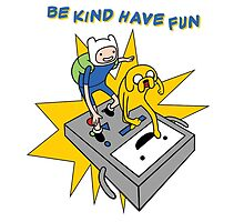 Be Kind Have Fun by chancel