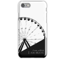 Brave and Selfish iPhone Case/Skin