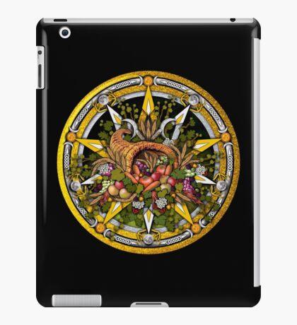 Sabbat Pentacle for Mabon the Autumnal Equinox iPad Case/Skin