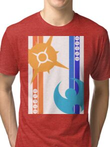Sun & Moon - Pokemon Tri-blend T-Shirt