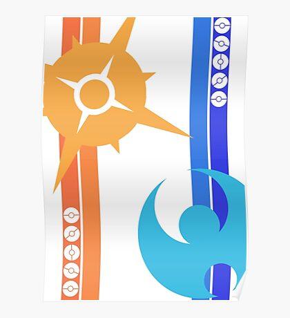 Sun & Moon - Pokemon Poster