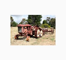 Old rusty tractor in the country Unisex T-Shirt