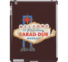 Welcome to Barad-Dur iPad Case/Skin