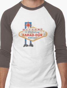 Welcome to Barad-Dur Men's Baseball ¾ T-Shirt