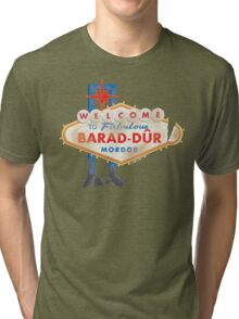 Welcome to Barad-Dur Tri-blend T-Shirt
