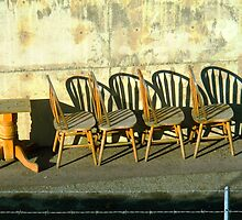 Table and Chairs © by Ethna Gillespie