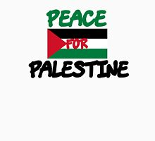 Peace for Palestine Womens Fitted T-Shirt