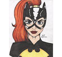 Batgirl- Alexis McArthur Photographic Print