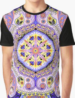 Boho Floral Madness Var. 5 Graphic T-Shirt