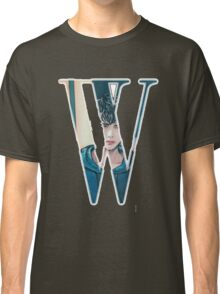 """""""W"""" Kdrama Webtoon Design Classic T-Shirt"""