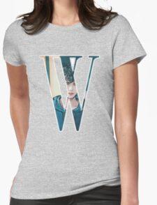 """W"" Kdrama Webtoon Design Womens Fitted T-Shirt"