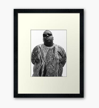 Biggie Smalls Framed Print