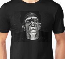 Portrait in Black and White. Unisex T-Shirt