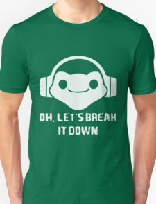 let is break it down - lucio game Unisex T-Shirt