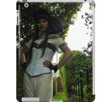 Blue Lace Corset  iPad Case/Skin