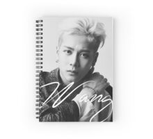 Jackson Wang Spiral Notebook
