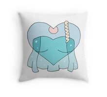 A Frozen Heart Throw Pillow