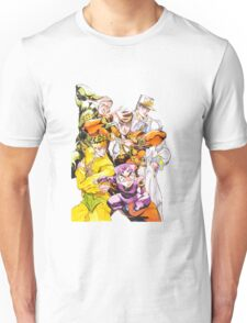 The JJBA:DIU Gang Unisex T-Shirt